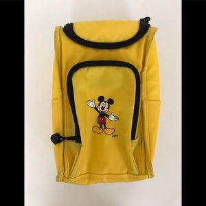 Disney Mickey Mouse Vintage Yellow Lunch Box